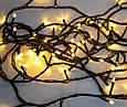 Новогодняя светодиодная гирлянда на елку (LED300 WW-2 теплый белый свет 270 LED 15.5 м.)  5029 (GK), фото 4