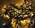 Новогодняя светодиодная гирлянда на елку (LED300 WW-2 теплый белый свет 270 LED 15.5 м.)  5029 (GK), фото 5