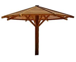 Дерев'яний парасолька арт. тт02