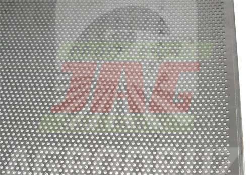Сито решето отворове (на ріпак) 1000x1040mm d=4mm Massey Ferguson 1720081M1