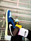 Кроссовки Nike Air Jordan Retro 1 Blue Brown, фото 2