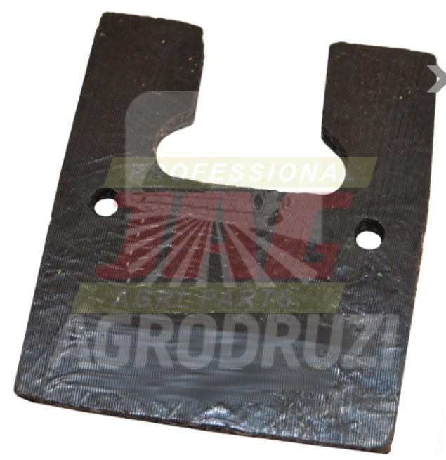 Лопатка гумова скребок елеватора 70x80x7mm (MF31) 320335M1