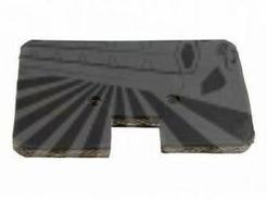 Лопатка гумова елеватора 110x85mm MF 487, 506, 507