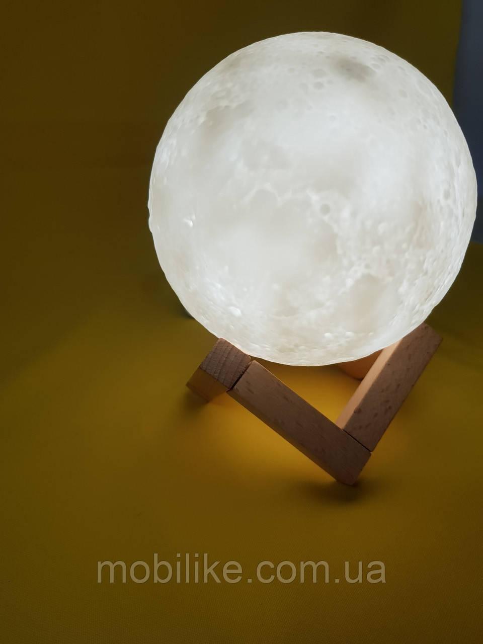 """Качественный увлажнитель воздуха """"Луна"""" 3D moon lamp light"""