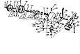 Вилка шарпака коси John Deere E40819, фото 2
