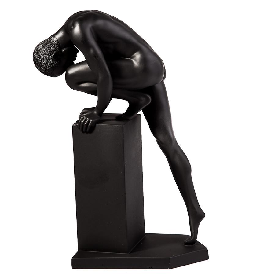 Статуетка Veronese Атлет на колоні 20 см 72471