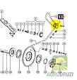 Зірочка подвійна Z13/14 Claas 645333, фото 2