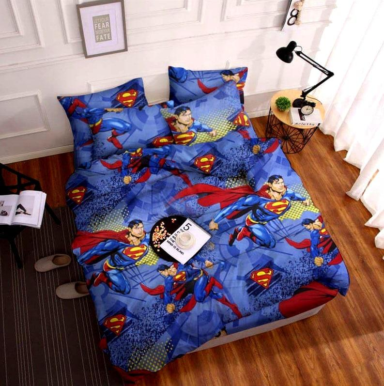 Постельное белье подростковое Бязь Супермен