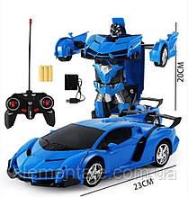 Робот-трансформер Lamborghini машина на радіокеруванні Автобот car Robot на пульті кращий подарунок для дітей