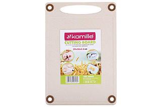 Дошка обробна Kamille - 290 x 200 x 8 мм пшеничне волокно (10 065), (Оригінал)