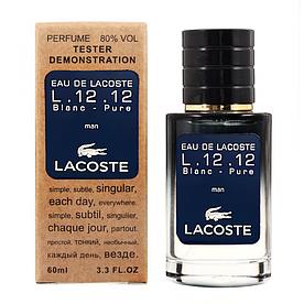 Lacoste Eau De Lacoste L.12.12 Blanc-Pure TESTER LUX, мужской, 60 мл
