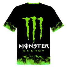 "Футболка 3D с принтом ""Monster energy"""