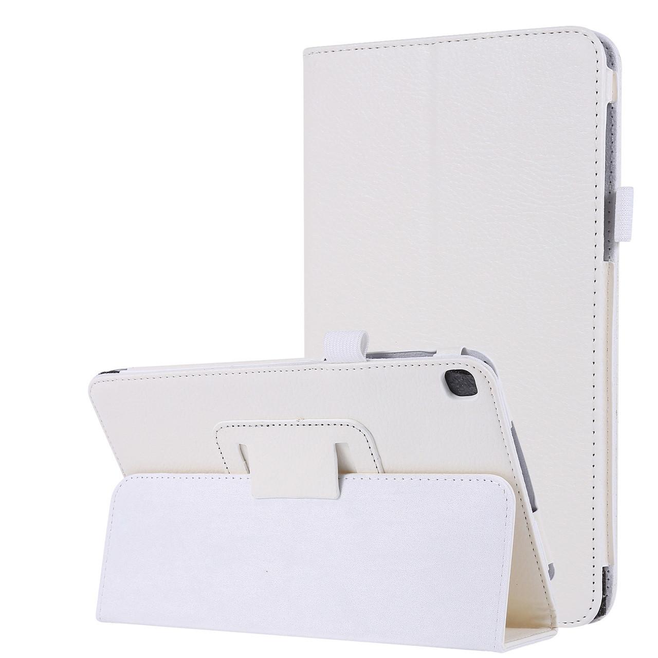 "Чехол книжка TTX Leather Book для Samsung Galaxy Tab A 8.0"" SM-T290 SM-T295 2019 белый"