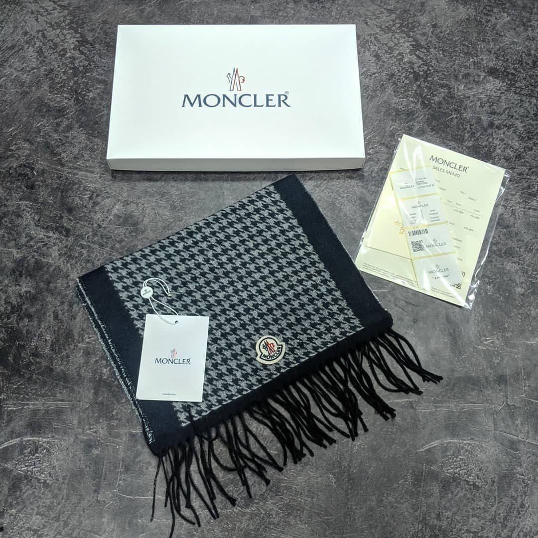 Шарф Moncler CK1730 черный