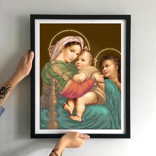 Мадонна с дитям (большая) ЗПО-034
