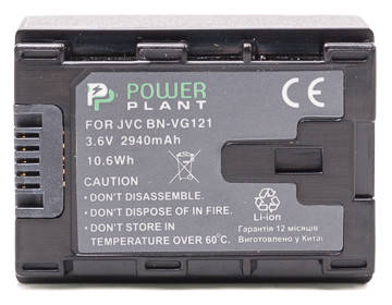 Аккумулятор PowerPlant JVC BN-VG121 Chip 2940mAh, фото 2