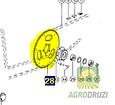 Зірочка Z58 (на 5 отворів) Claas 753533, фото 2