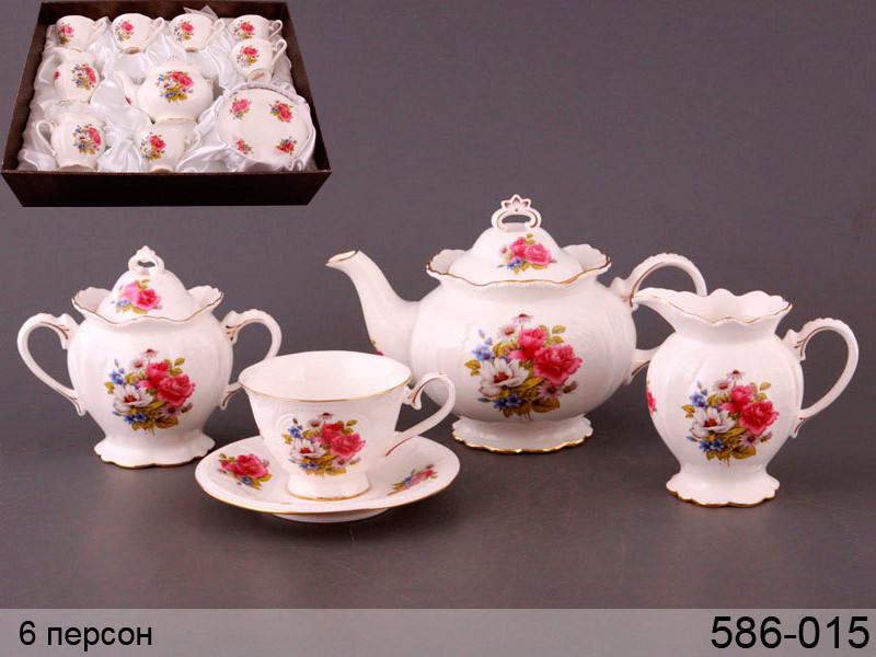 Чайний набір Lefard Весняний на 15 предметів 586-015