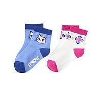 Детские носочки для девочки (2 пары) 6-12 месяцев, 2-3 года