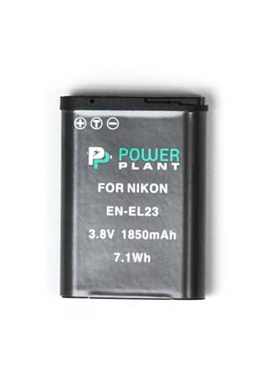 Аккумулятор PowerPlant Nikon EN-EL23 1850mAh, фото 2