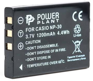 Аккумулятор PowerPlant Casio NP-30, KLIC-5000, LI-20B, фото 2
