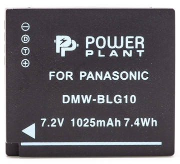 Аккумулятор PowerPlant Panasonic DMW-BLG10, DMW-BLE9 1025mAh, фото 2