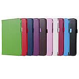 """Чехол книжка TTX Leather Book для Samsung Galaxy Tab A 8.0"""" SM-T290 SM-T295 2019 голубой, фото 2"""