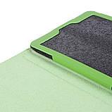 """Чехол книжка TTX Leather Book для Samsung Galaxy Tab A 8.0"""" SM-T290 SM-T295 2019 голубой, фото 6"""