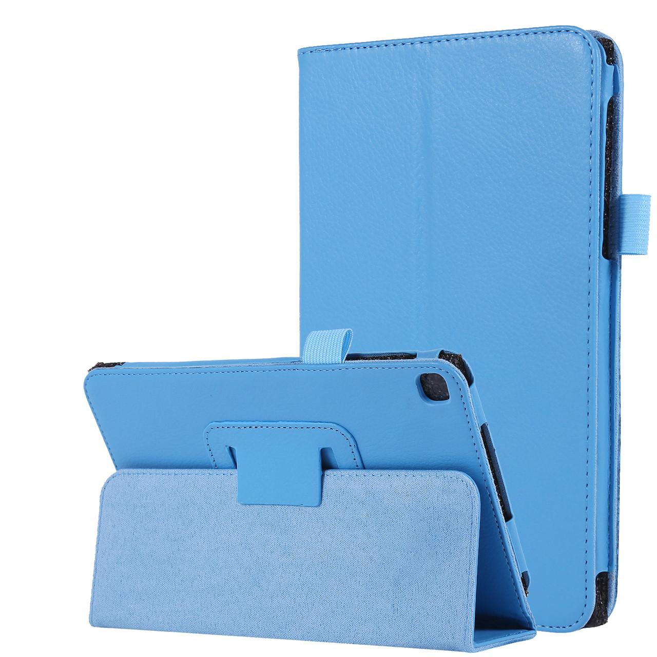 "Чехол книжка TTX Leather Book для Samsung Galaxy Tab A 8.0"" SM-T290 SM-T295 2019 голубой"