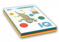 Набор бумаги цв. насыщенный IQ, А4/80 (5х50/250л.), RB02