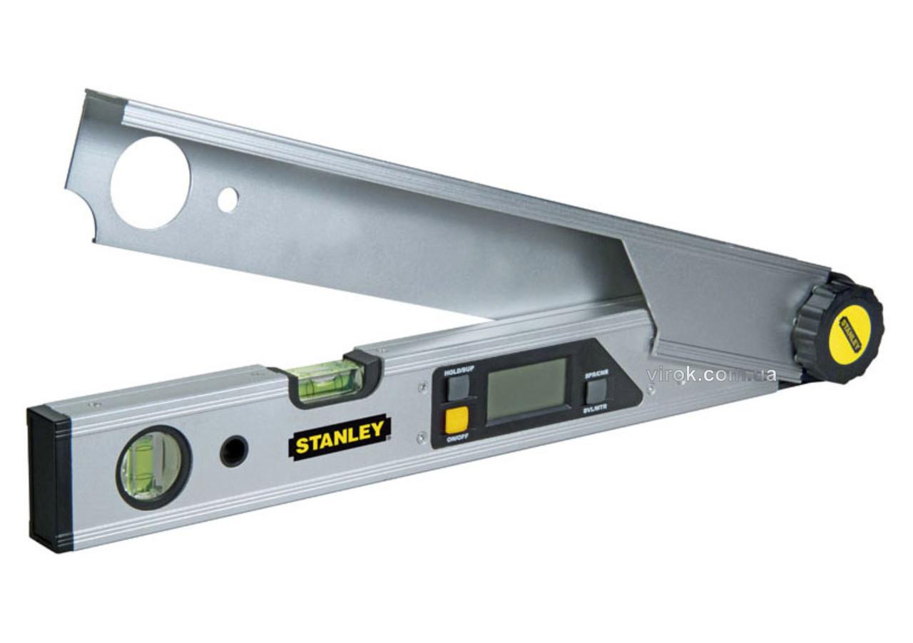 Кутомір цифровий Stanley 400 мм 2 капсули
