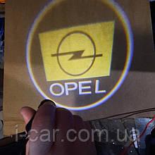Проекція логотипу автомобіля OPEL