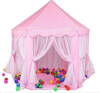 Детская палатка - шатер M 3759 Bambi Розовый М-6903184659016, КОД: 2380099