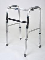 Ходунки для инвалидов 2в1 универсальные (шагающие и нешагающие)