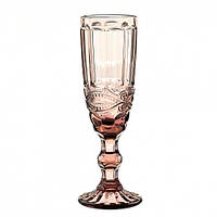 Набор бокалов для шампанского Гранат, фото 1