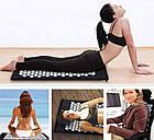 Акупунктурный коврик для снятия стресса Acupressure Mat   Колючий коврик   Коврик для массажа тела, фото 2