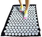 Акупунктурный коврик для снятия стресса Acupressure Mat   Колючий коврик   Коврик для массажа тела, фото 9