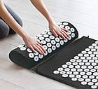 Акупунктурный коврик для снятия стресса Acupressure Mat   Колючий коврик   Коврик для массажа тела, фото 6