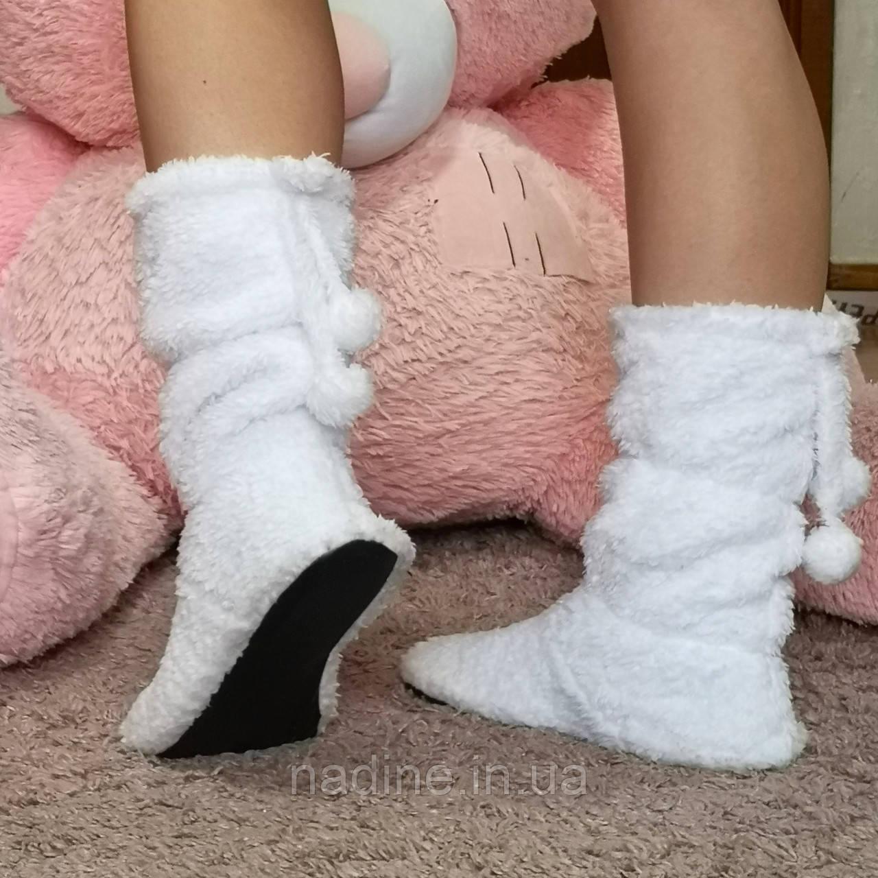Домашні чобітки Eirena Nadine (white S-573-37) білі 25 см