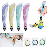 3D ручка MyRiwel Pen 2 з LED дисплеєм | Дитяча 3д ручка для малювання MyRiwel 2, фото 6
