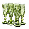 Набор бокалов для шампанского Турмалин