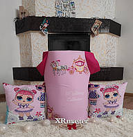 Корзина для игрушек принцессы с каретами