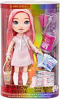 Игровой набор кукла Пупси Слайм 36 см розовая Poopsie Rainbow Pixie Rose High Рэйнбоу Хай 571186