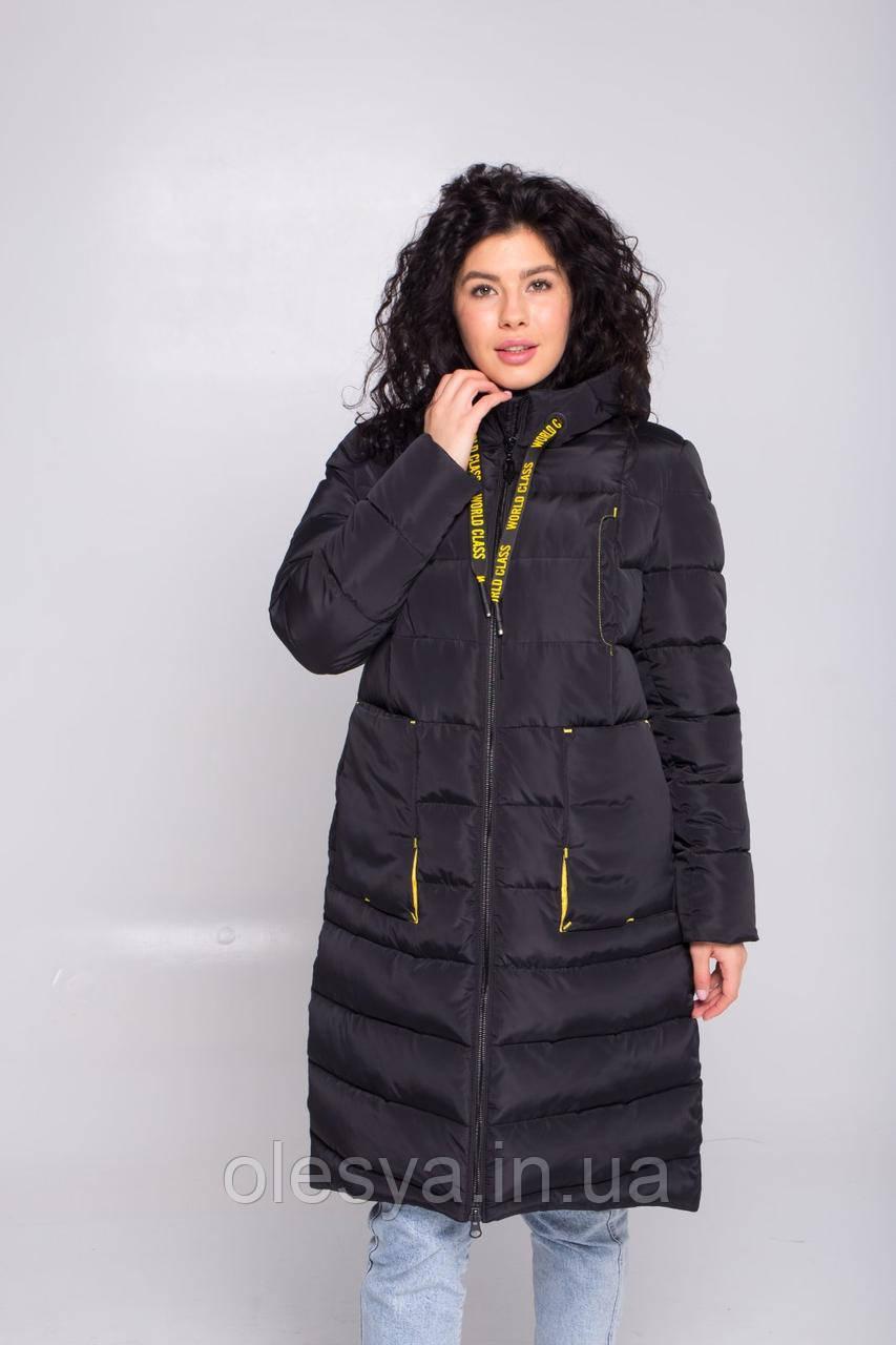 Пуховик, куртка, пальто зимнее женское молодежное ТМ CoolZika Рры 42-56