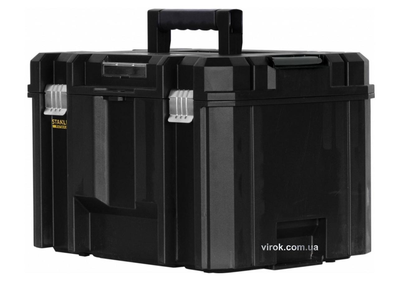"""Ящик для інструментів пластиковий STANLEY """"FatMax"""" TSTAK 44 х 33 х 32.6 см"""