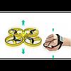 Квадрокоптер дрон Tracker Drone Pro Original с сенсорным управлением на руку, жестами, ручной дрон, фото 3