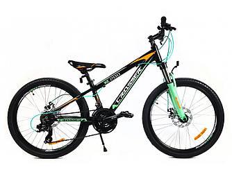 """Підлітковий велосипед Crosser Boy 24"""""""