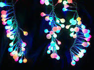 Новогоднее украшение, гирлянда Виноград, 512 разноцветных светодиодов