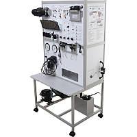 Стенд лабораторный Система питания двигателем с распределенным впрыском топлива НТЦ-15.40.1