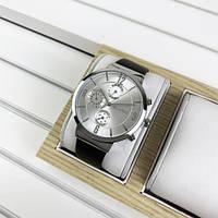 Чоловічі годинники Guardo B01312-2 Dark Brown-Silver-White